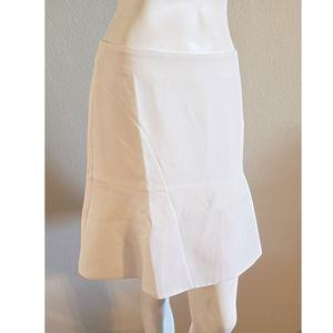 Aryn K White Skirt